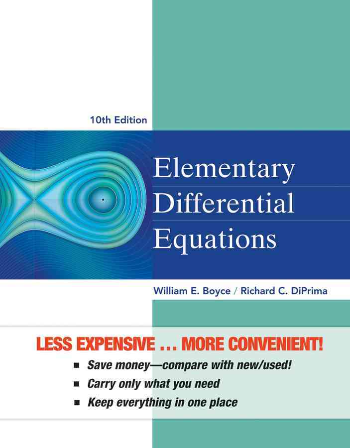 Elementary Differential Equations By Boyce, William E.