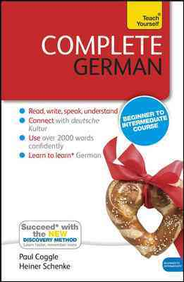 Complete German By Schenke, Heiner